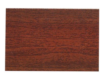 faux: Campione di finto legno isolato su sfondo bianco