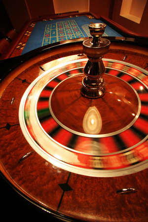 A turning roulette in a new casino Stock Photo - 666484