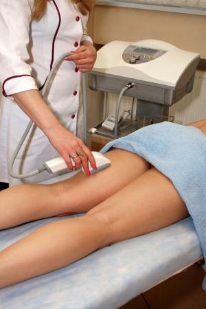Laser epilation in a modern beauty shop Stock Photo - 723513