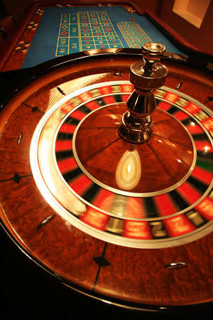 A revolve roulette in a new casino Stock Photo - 793581