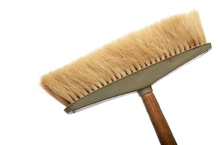 Old and pure mop on a white background Stock Photo - 883871