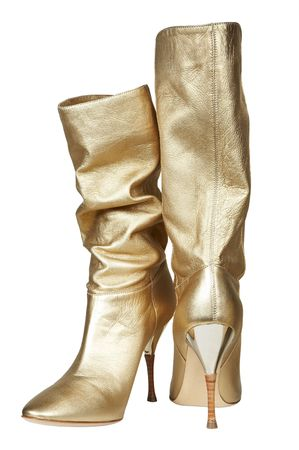 jackboot: Female boots for summer on a high heel