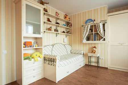 Beautiful children's room in the modern house Stock Photo - 1052539