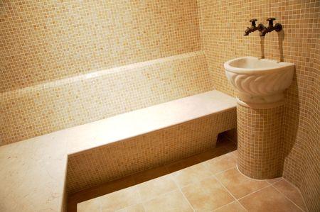 turkish bath: Beautiful turkish bath in new modern hotel