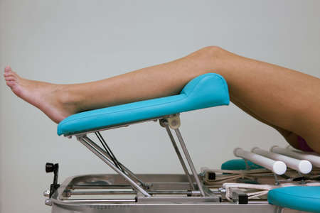 Beautiful female legs on a massage table Stock Photo - 2483356