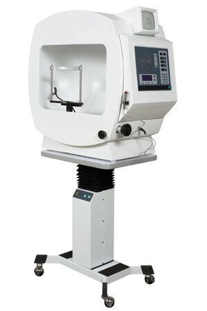 scrutiny: The medical equipment for research of eyes
