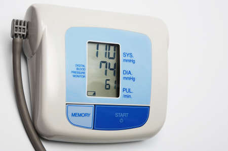 The modern device for measurement of pulse and a blood pressure Stock Photo - 2983661