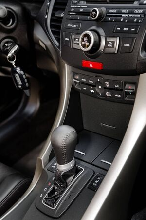Control panel of the modern new car Stock Photo - 3383337