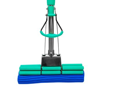 modern mop for washing floors on a white background Stock Photo - 3754463