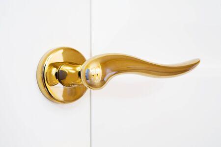 keystone light: white door with the new shining lock
