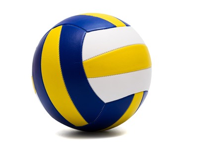 modern sport ball on a white background photo