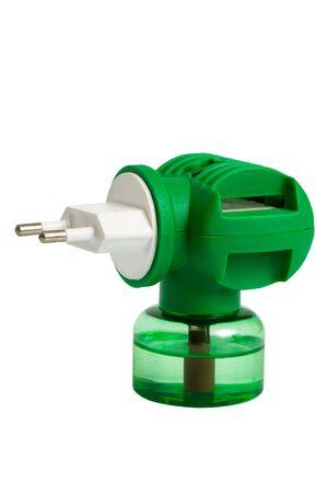 fumigador: El dispositivo el�ctrico para la protecci�n contra los mosquitos Foto de archivo
