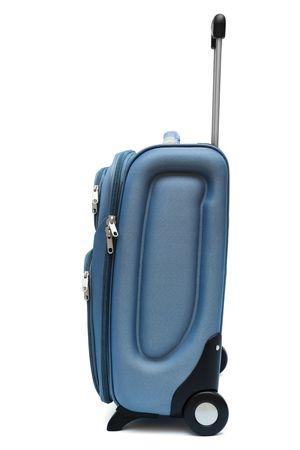modern large suitcase on a white background Stock Photo - 4981741
