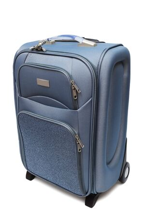 modern large suitcase on a white background Stock Photo - 5113917
