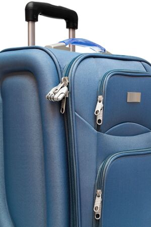 modern large suitcase on a white background Stock Photo - 5164602