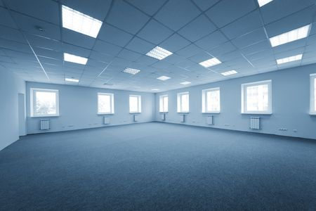 Greater room of modern under construction office Stock Photo - 5860312