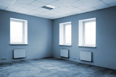 Greater room of modern under construction office Stock Photo - 6270906