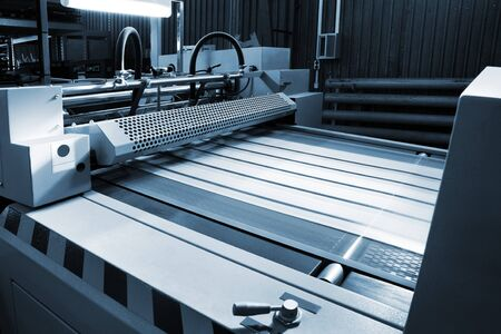 object printing: Polygraphic process in a modern printing house