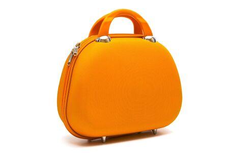 beautiful large handbag on a white background photo