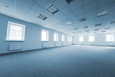 Greater room of modern under construction office Stock Photo - 9208827