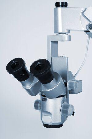 researches: Microscopio nuovo e moderno per ricerche scientifiche