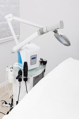 modern equipment in the beauty salon