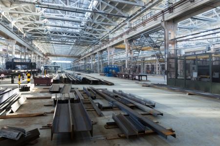 metalworking: great new workshop in modern metalworking plant