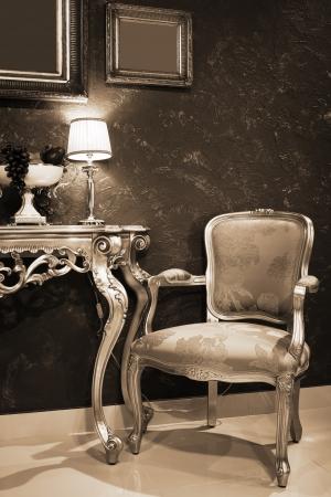 Tabulka s ovocem v módním bytě