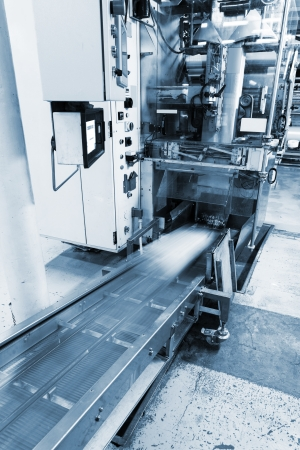 moving conveyor at the new plant