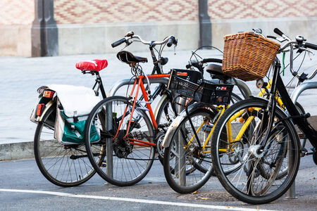 rack wheel: bike parking in the old town
