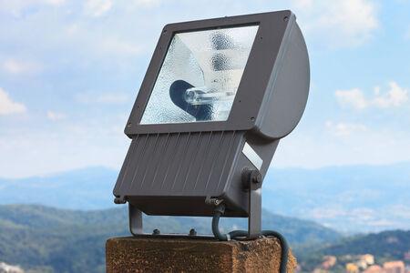 searchlight: spotlight for lighting close up