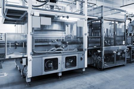 cinta transportadora: transportadora que trabaja en una fábrica moderna