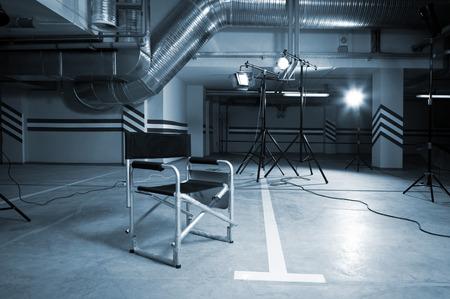 silla: dirigida por el presidente en el estacionamiento
