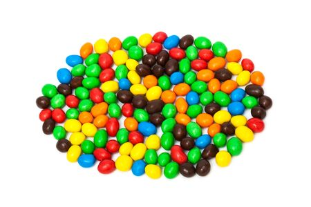jellybean: beautiful candy on a white background