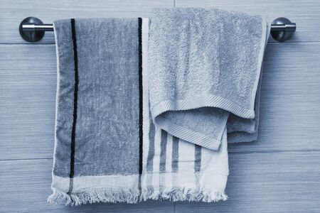 fluffy: fluffy new towels in the bathroom