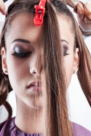 fodrászat: létrehozására frizurák egy fodrászat