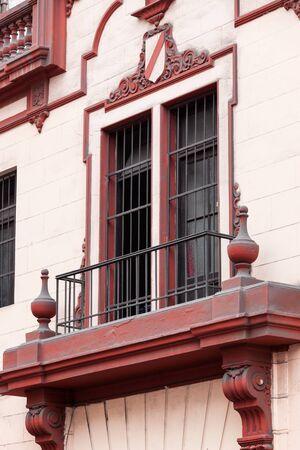 balcony window: beautiful balcony window and pink wall