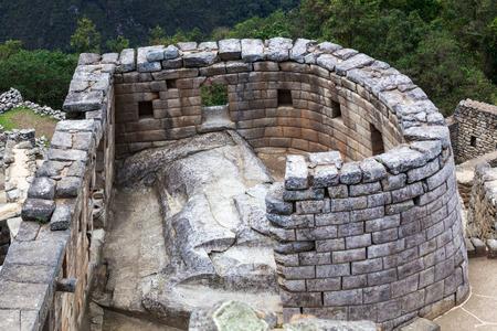 past civilizations: Temple of the Sun in Machu Picchu