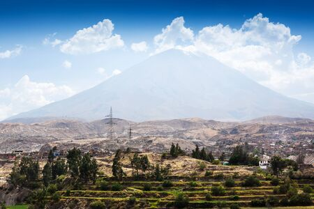 dormant: a dormant volcano and the city