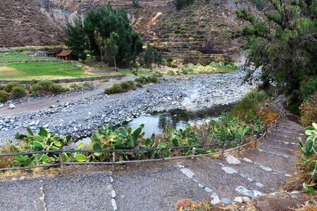 thermal spring: thermal spring, river and hiking trails