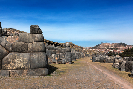 stronghold: ruins of the ancient Inca stronghold
