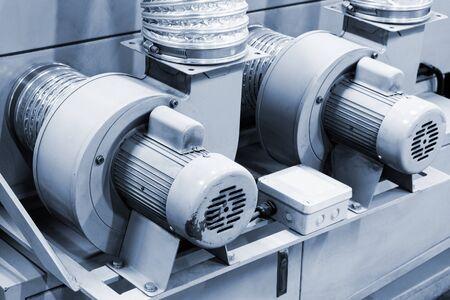 l'équipement d'alimentation en air d'un moteur électrique