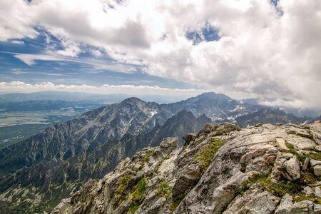 Hight tatras - nice mountains in Slovakia