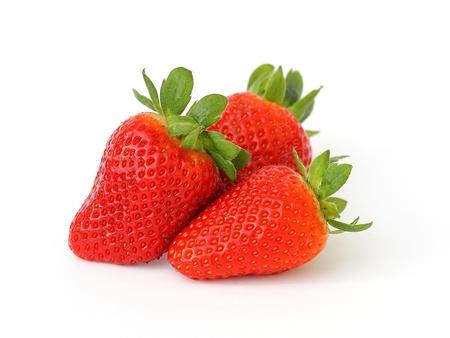 fresh strawberries Imagens - 9313143