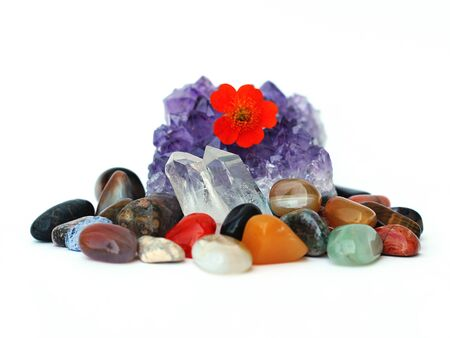 amethyst and gemstones