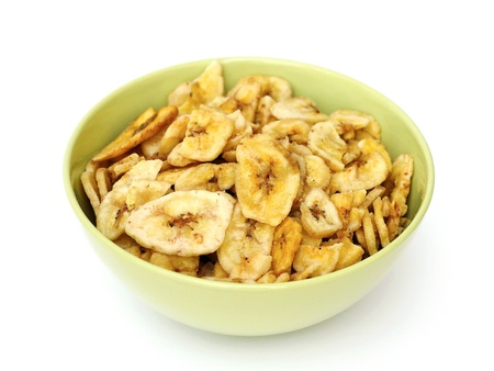 dried bananas Imagens