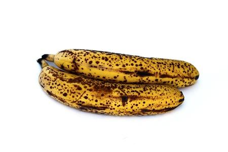 overripe: rotten banana