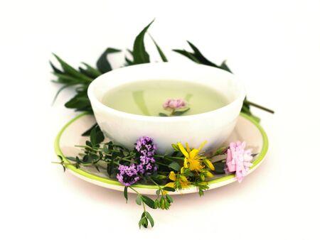 water thyme: t� de hierbas
