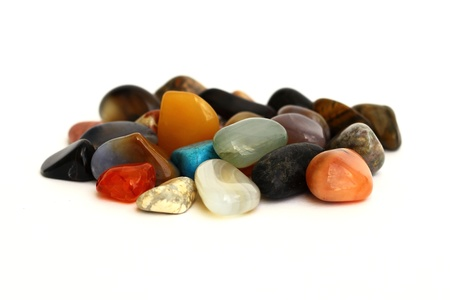 semiprecious: stones Stock Photo