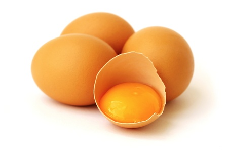 yolk: chicken eggs